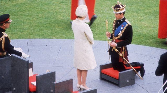 Investiture of Prince Charles in 1969
