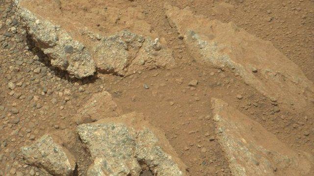 Streambed on Mars