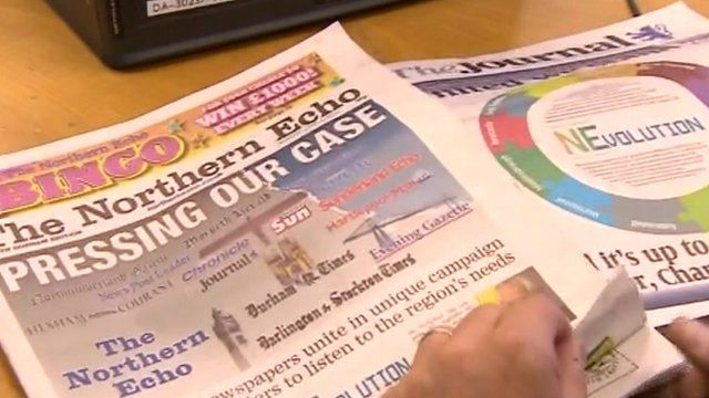 Newspapers including the Northern Echo and The Journal have joined forces for the campaign