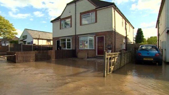 Queniborough flood