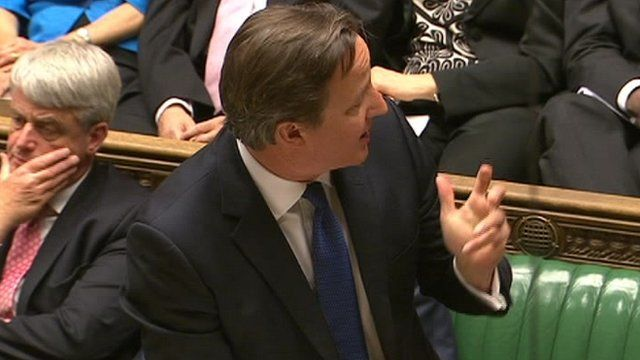 Prime Minister David Cameron praising Southwold rescuers