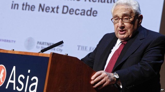 Henry Kissinger, 2013