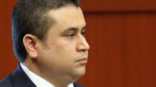 George Zimmerman in court in Sanford, Florida