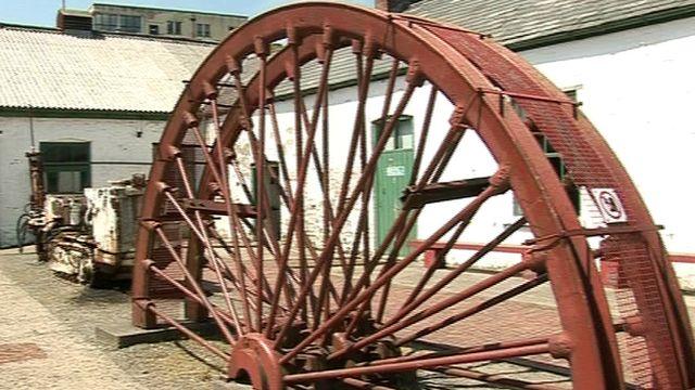 Winding gear wheel