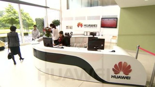 Huwai's has opened its UK headquarters in Reading