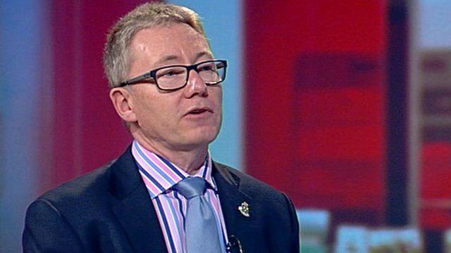 East of England Ambulance Trust's interim chief executive Andrew Morgan