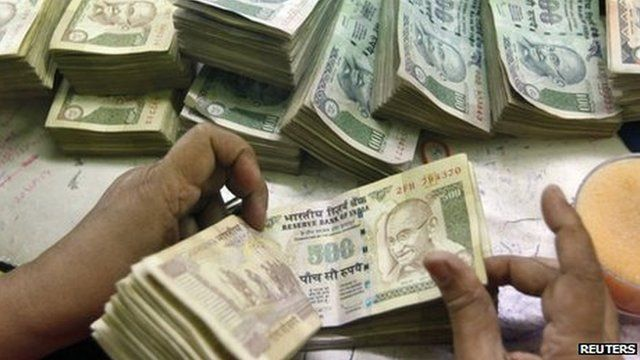 Indian bank notes