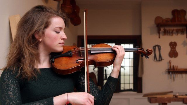 A Beechback Stradivarius from the new exhibition