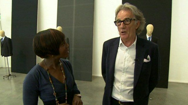 Brenda Emmanus and Paul Smith talk about men's fashion week