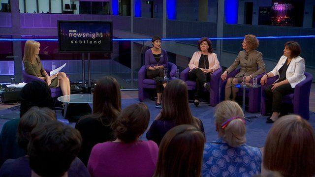 Newsnight women's panel