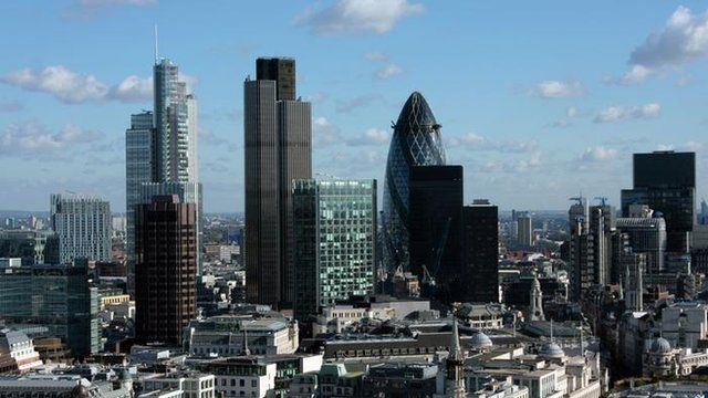 Panorama of the City of London