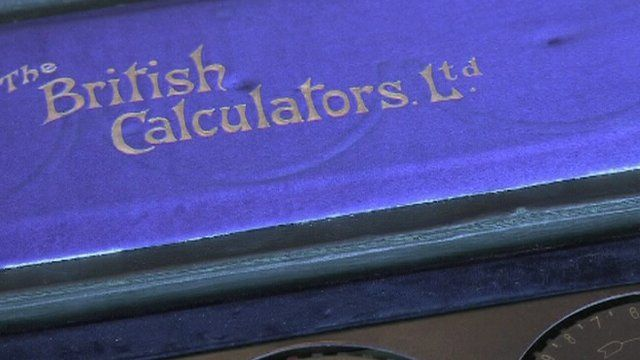 British Calculator box