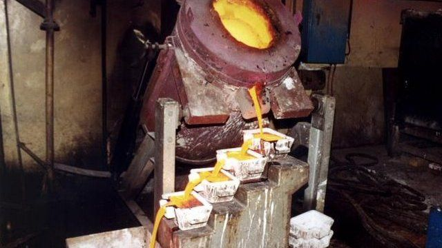 Molten liquid gold