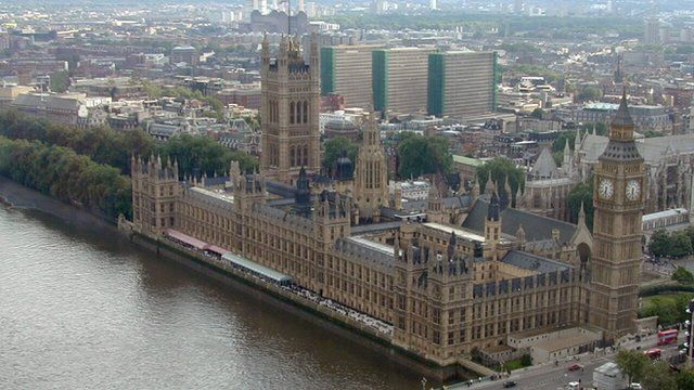 Westminster, Houses of Parliament, London