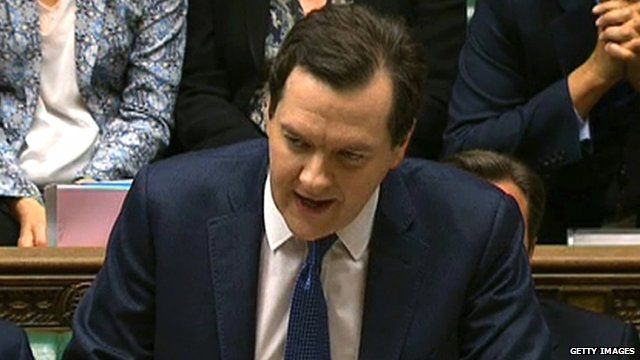 The Chancellor, George Osborne