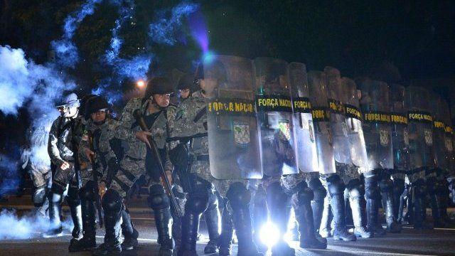Brazil's National Guard in Rio de Janeiro