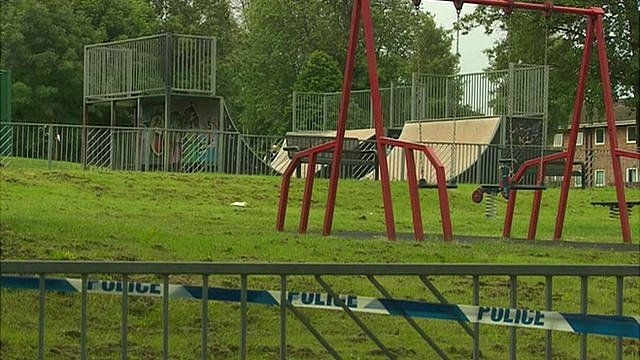 Carnegie Skate Park where the stabbing took place