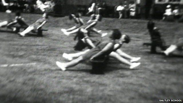 Footage from the film