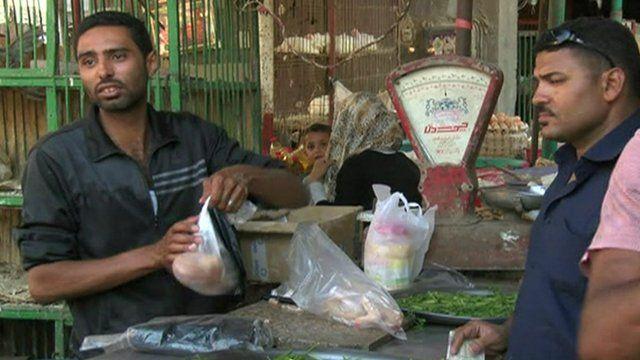 Vegetable stall at Egyptian market