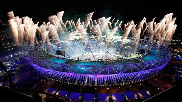 Opening ceremony of the London 2012 Olympic Games