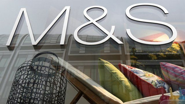Marks and Spencer ship front