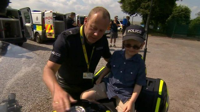 Durham Policeman and Ryan Compton