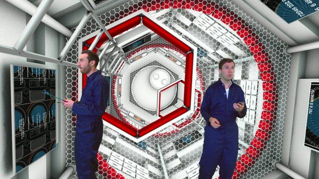 Aboard the virtual spacecraft