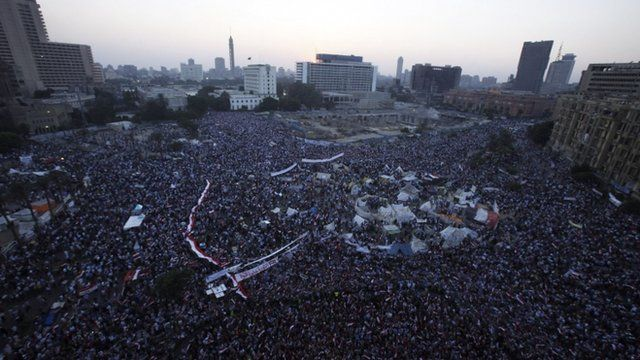 Tahrir Square in Cairo July 7, 2013