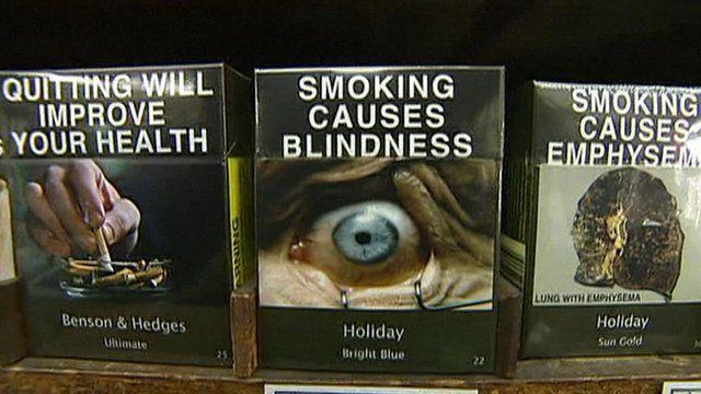Graphic cigarette packing in Australia