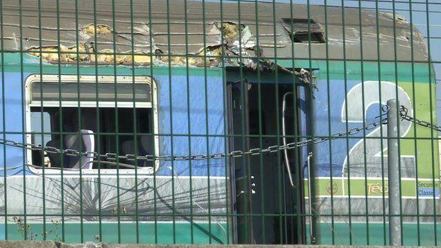France train crash: Scene resembles a 'post-apocalyptic ...