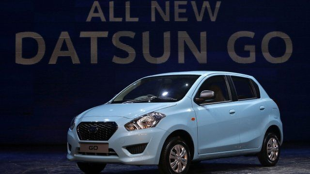 "The new ""Datsun Go"""