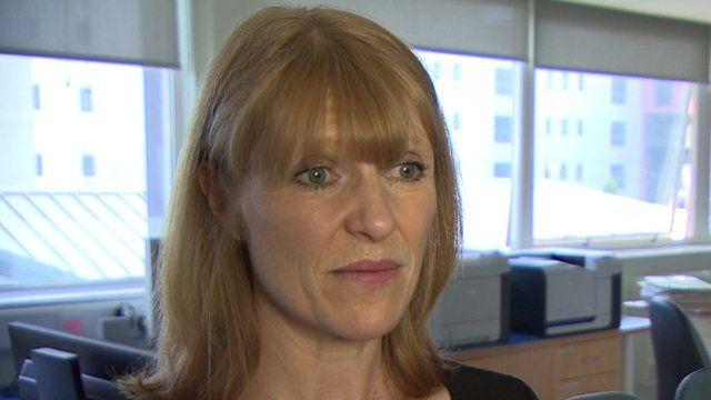 Chief executive of Basildon Hospital Clare Panniker