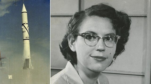 Rocket launch; Mary Sherman Morgan