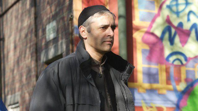 Paul Bhattacharjee as Imzamam in EastEnders