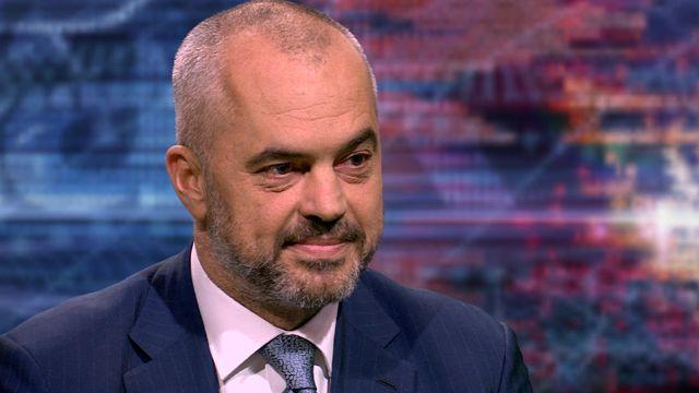 Prime Minister-designate of Albania, Edi Rama