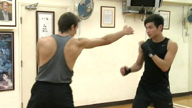 Men practicing Jeet Kune Do
