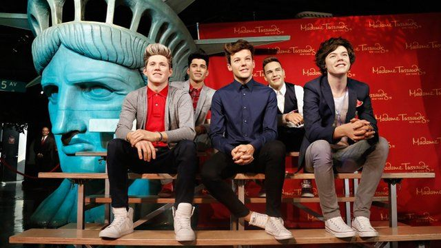 Madame Tussauds New York unveils wax figures of One Direction