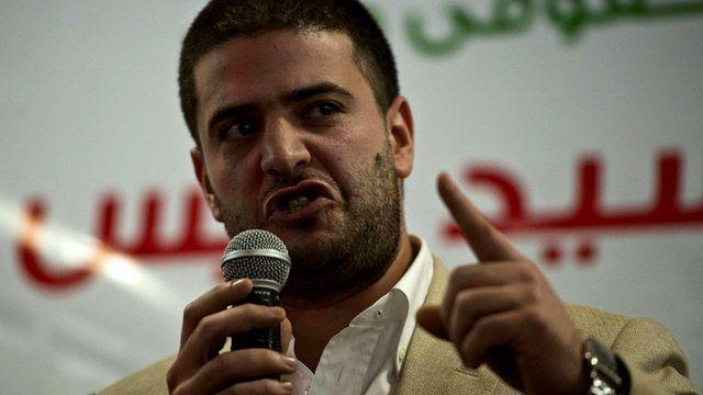 Osama Mohamed Morsi son of Egypt's ousted president Mohamed Morsi