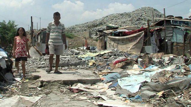 Philippine dump