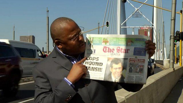 BBC reporter Milton Nkosi reports on South Africa's reaction to the birth of the Prince of Cambridge