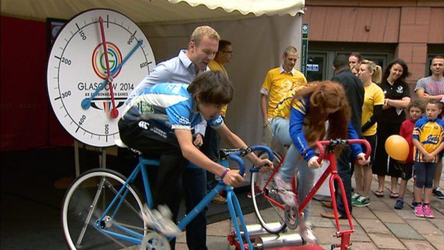 Sir Chris Hoy hosts a cycle challenge