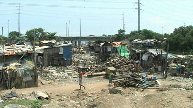 Slums in the Philippines
