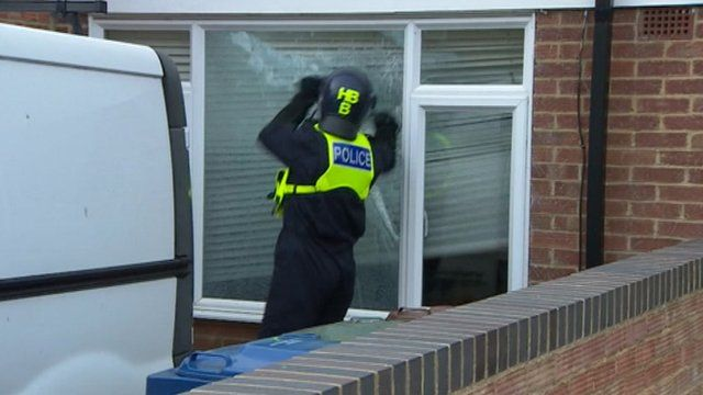 Drug raid in Oxford