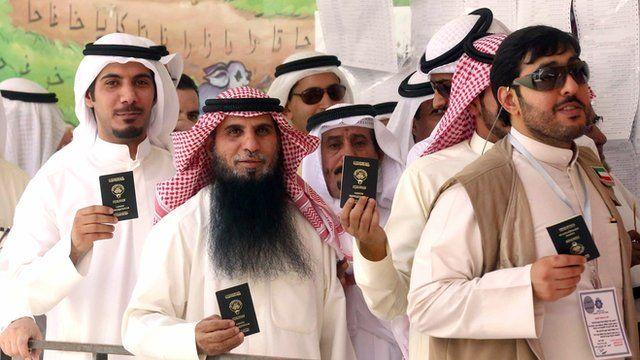 Kuwaiti voters