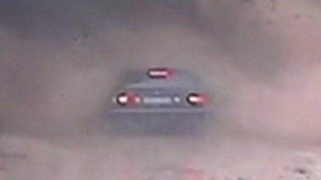 Swamped car