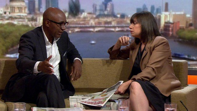 Trevor Phillips and Beth Rigby