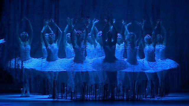 Dancers in Swan Lake
