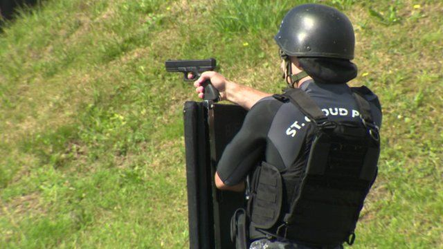SWAT teams from around the world have gathered in Northern Ireland to take part in the contest