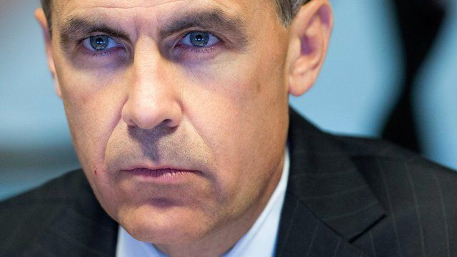 Governor of the Bank of England, Mark Carney