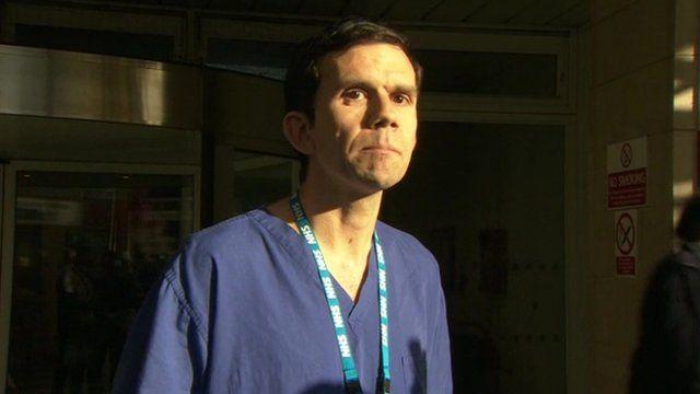 Surgeon Andy Williams